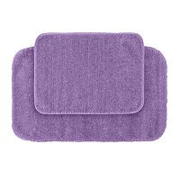 Garland Deco Plush 2-pc. Bath Rug Set