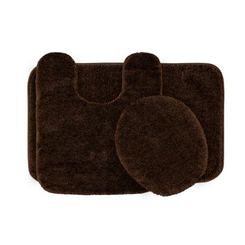 Garland Deco Plush 3-pc. Bath Rug Set