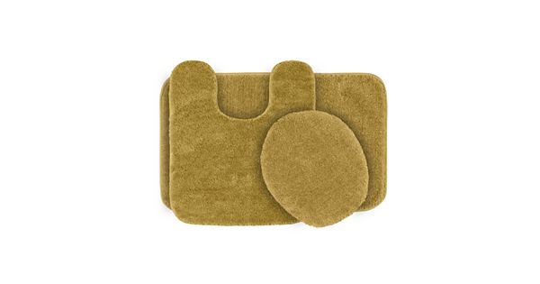 Plush Bathroom Rug Sets: Garland Deco Plush 3-pc. Bath Rug Set