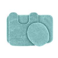 Garland Deco Plush 3 pc Bath Rug Set