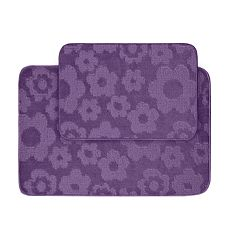 Garland My Crib Flower Child 2-pc. Bath Rug Set