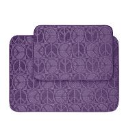 Garland My Crib Peace 2-pc. Bath Rug Set