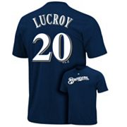 Majestic Milwaukee Brewers Jonathan Lucroy Tee - Men