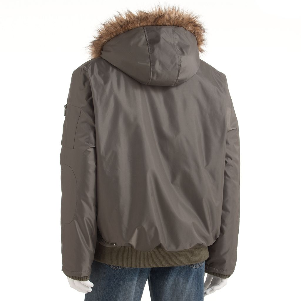 Men's Excelled Hooded Bomber Jacket