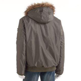 Men's Excelled Hooded Bomber Jacket