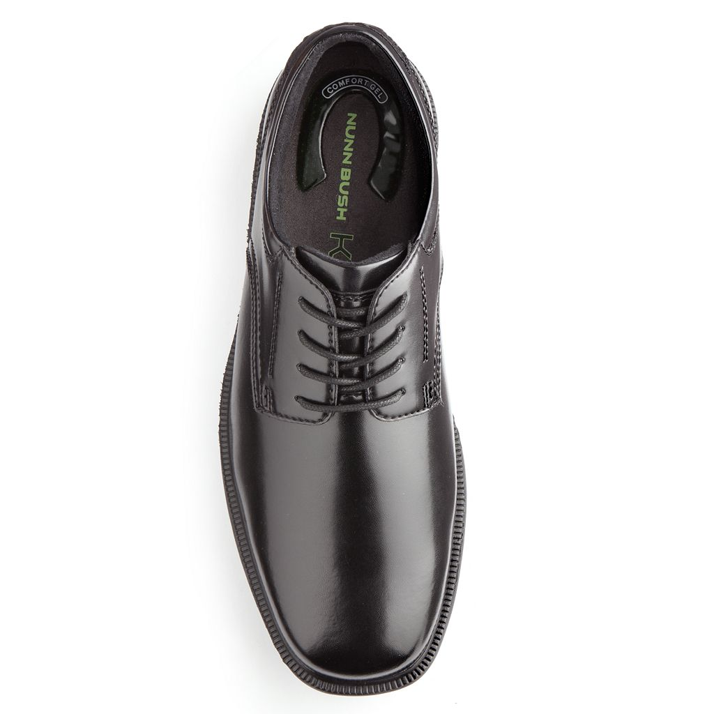Nunn Bush Baker Street Kore Men's Plain Toe Oxford Dress Shoes