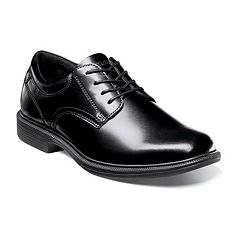 Nunn Bush Baker Street Kore Men's Plain Toe Oxford Dress Shoes