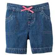 Jumping Beans Denim Bermuda Shorts - Toddler