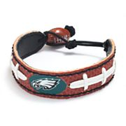 Philadelphia Eagles Leather Football Bracelet