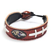 Baltimore Ravens Leather Football Bracelet