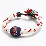 Frozen Rope Boston Red Sox Leather Baseball Bracelet