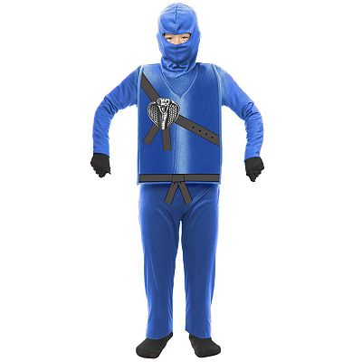 Blue Ninja Costume - Toddler