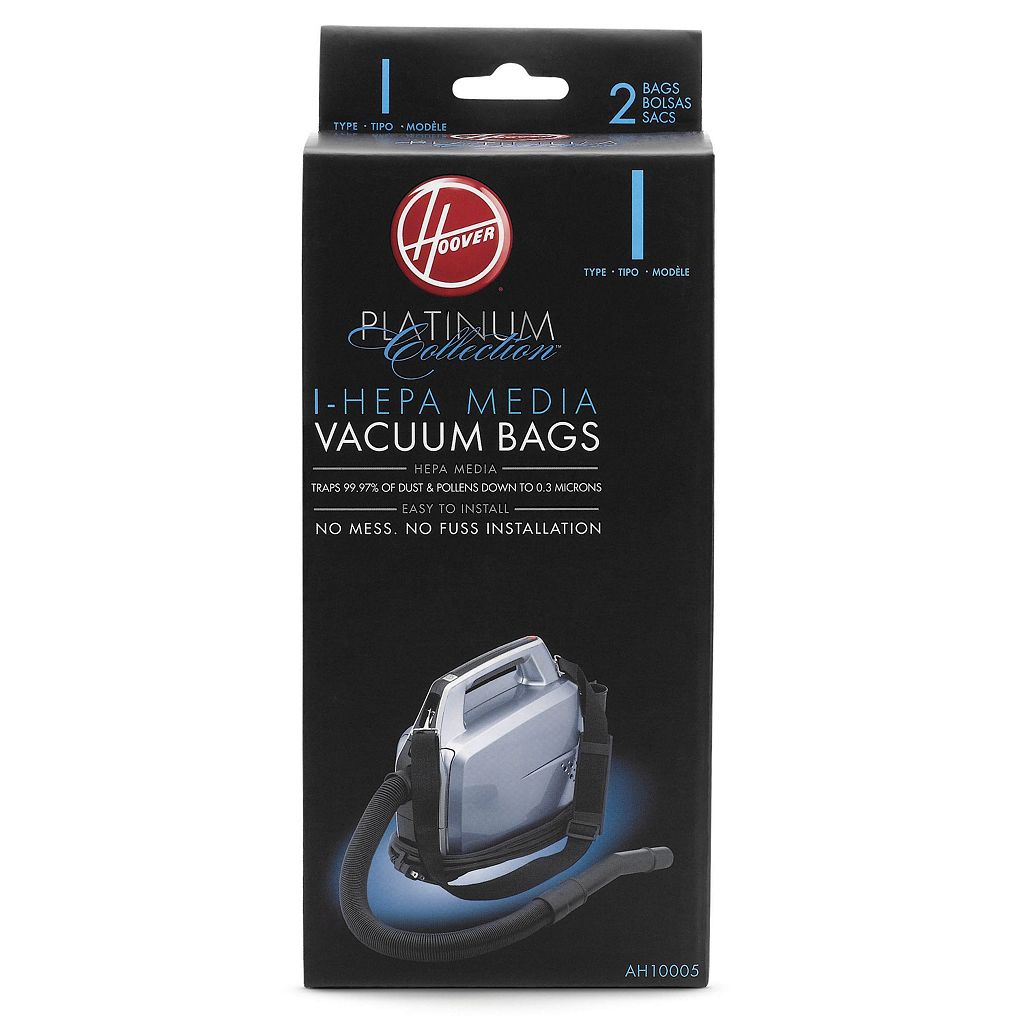 Hoover Platinum Collection I-HEPA Vacuum Bags - 2-pk.
