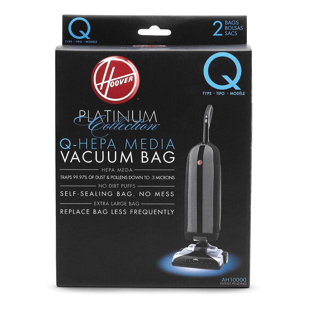 Hoover Platinum Collection Q-HEPA Vacuum Bags - 2-pk.