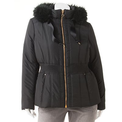 Candie's Puffer Coat - Juniors' Plus