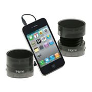 iHome Crystal Tunes Mini Speakers