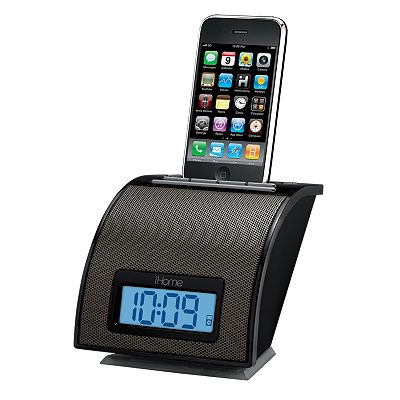 iHome Space Saving Alarm Clock