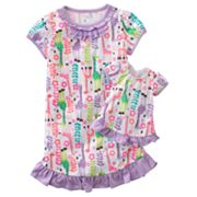 Jumping Beans Giraffe Nightgown - Girls 4-7