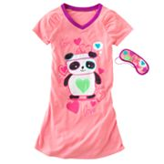 SO Panda Sleepshirt - Girls 7-16