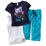 SO Owl Pajama Set - Girls 7-16