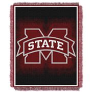 Mississippi State Bulldogs Jacquard Throw Blanket by Northwest