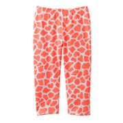 Jumping Beans Giraffe Capri Neon Leggings - Girls 4-7