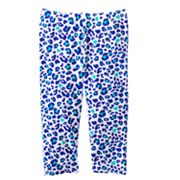 Jumping Beans Cheetah Capri Leggings - Girls 4-7