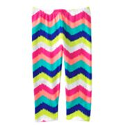 Jumping Beans Zigzag Striped Capri Leggings - Girls 4-7