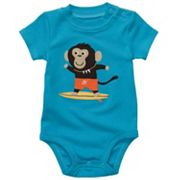 Carter's Surfing Monkey Bodysuit - Baby
