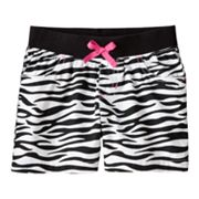 Jumping Beans Zebra Shorts - Girls 4-7