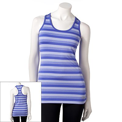 FILA SPORT Striped Performance Running Racerback Tank