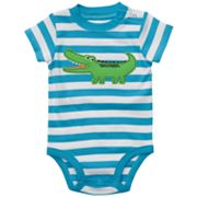 Carter's Alligator Striped Bodysuit - Baby