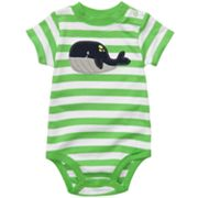 Carter's Whale Striped Bodysuit - Baby