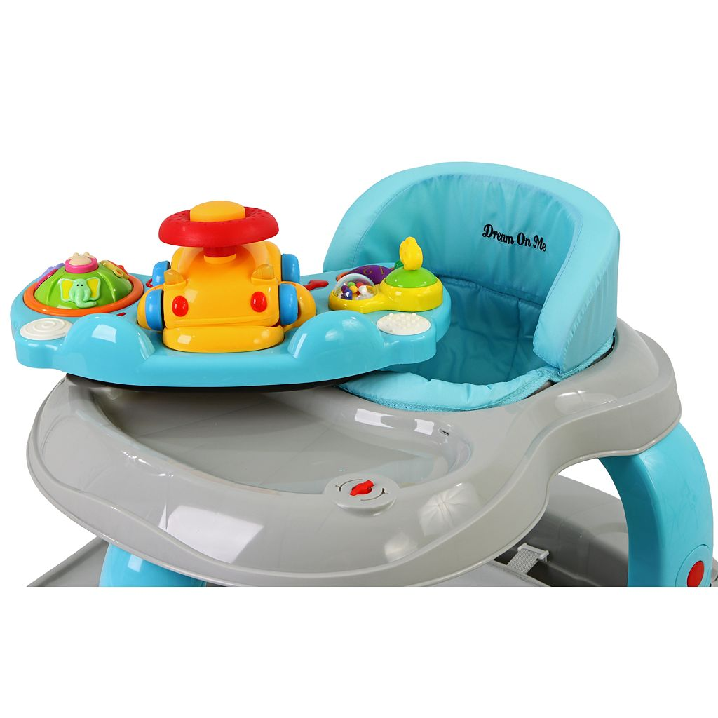 Dream On Me 2-in-1 Baby Tunes Musical Activity Walker and Rocker