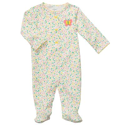 Carter's Floral Sleep and Play - Preemie
