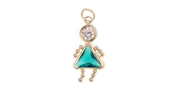 10k gold birthstone babies girl charm for Kohls jewelry mens rings