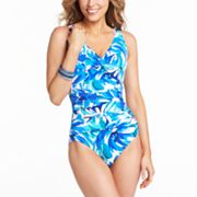 Croft and Barrow Fit for You Body Sculptor One-Piece Swimsuit