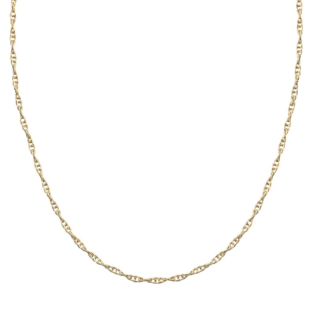 10k Gold Chain Necklace