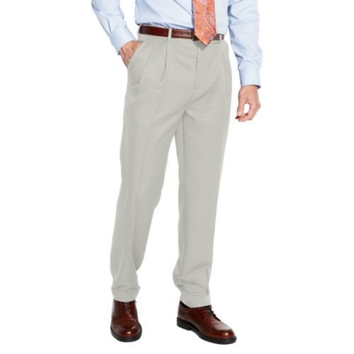 Croft & Barrow® Classic-Fit Pleated No Iron Microfiber Dress Pants - Men