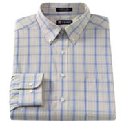 Chaps Classic-Fit Plaid Button-Down Collar Dress Shirt