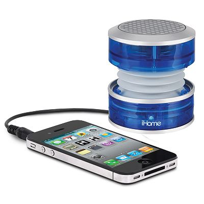 iHome Crystal Tunes Mini Speaker