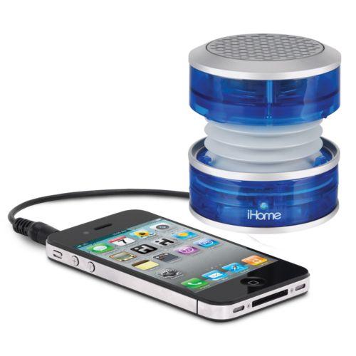 iHome Crystal Tunes Mini Speaker