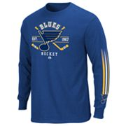 Majestic St. Louis Blues Cross Check Tee - Men
