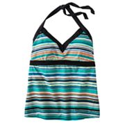 Nike Striped Halterkini Top