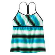 Nike Striped Tankini Top