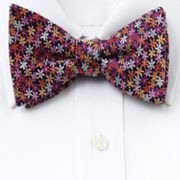 Croft and Barrow Floral Pretied Bow Tie