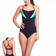 Nike Colorblock One-Piece Swimsuit
