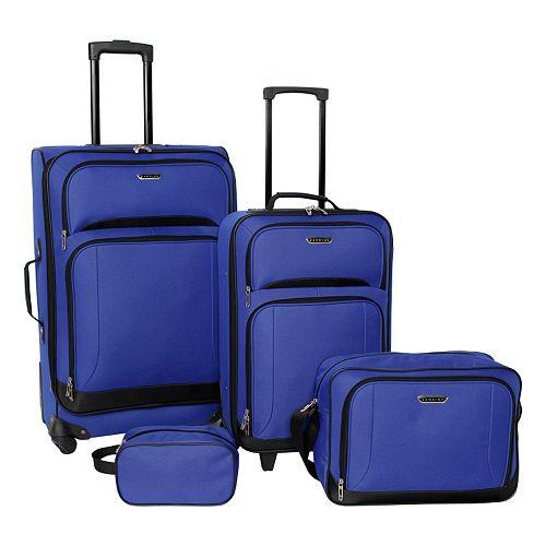 fecb22586 Prodigy Avenue 4-Piece Luggage Set