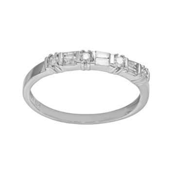 10k White Gold 1/4-ct. T.W. Diamond Ring