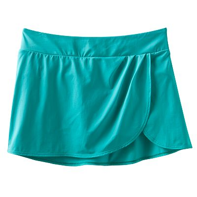 Dana Buchman Faux-Wrap Skirtini Bottoms